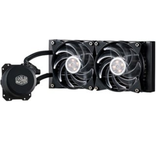 Link to CoolerMaster Fan MasterLiquid ML240L RGB FAN PUMP RADIATOR FOR INTEL AMD Retail Similar Items in Computer Cards & Components