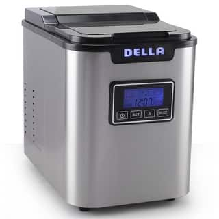 Della Electric Ice Maker Machine Express 26lbs/ Day with LCD Display Clock, Timer, Status -Stainless Steel|https://ak1.ostkcdn.com/images/products/is/images/direct/f3e98370ea85722445df6041fc710e7531b17fc7/Della-Electric-Ice-Maker-Machine-Express-26lbs--Day-with-LCD-Display-Clock%2C-Timer%2C-Status--Stainless-Steel.jpg?impolicy=medium