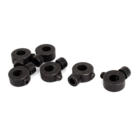 6 Pcs Black Metal Screw Jig Saw Spare Parts Collet Clamp for Makita 9523
