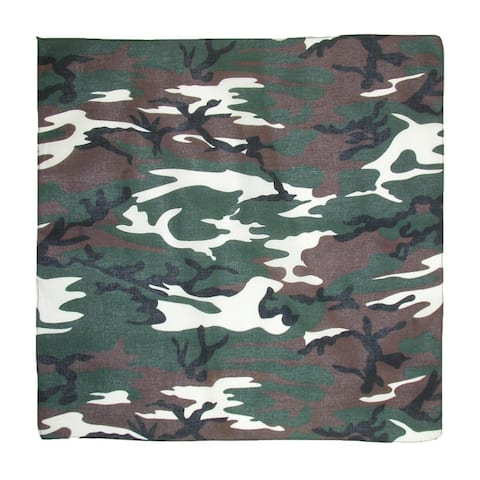 CTM® Cotton Camouflage / Hunting Bandanas - one size