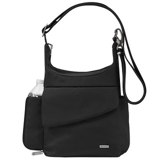 Travelon Anti-Theft Classic Messenger Bag, Black