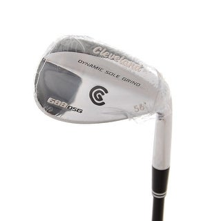 New Cleveland 588 DSG Chrome Wedge 56* ProLaunch Graphite Uniflex Shaft RH
