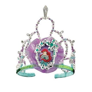 Disguise Disney Princess Ariel Tiara - Green/Purple