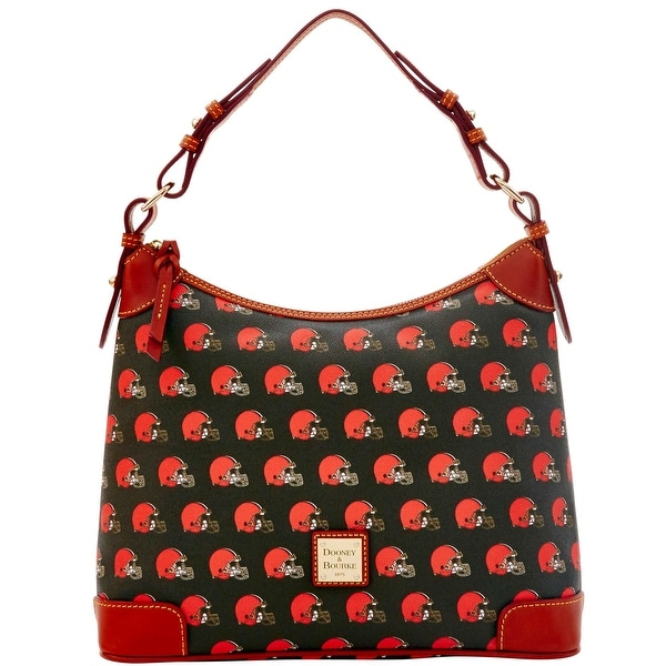 Dooney & Bourke NFL Browns Hobo (Introduced by Dooney & Bourke at $218 in Aug 2016)