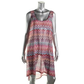 Gottex Womens Tank Printed Dress Swim Cover-Up