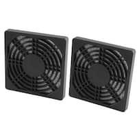 2 Pcs Computer Case Fan Dustproof Mesh Dust Filter Cover Guard 97mmx97mmx10mm