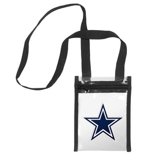 Dallas Cowboys Clear Crossbody Tote Bag
