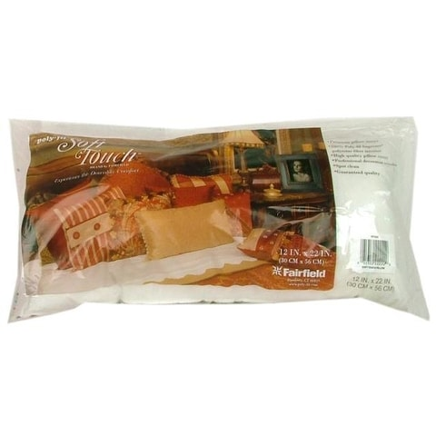 Fairfield Pillow Form Soft Touch PF Supreme 12x22