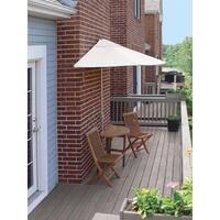 5-Piece Terrace Mates Standard Bistro Outdoor Patio Set 9' - Natural Olefin