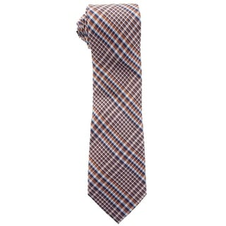 Nautica Mens Silk Glen Plaid Neck Tie - o/s