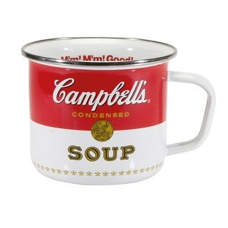 Officially Licensed Steel Giant Enamelware Mugs - Campbell's Soup - 24 oz.