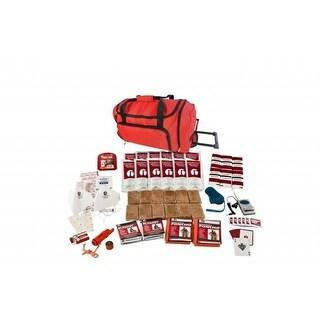 SKG2-RED Wheel Bag 2 Person Survival Kit in Wheel Bag, Red