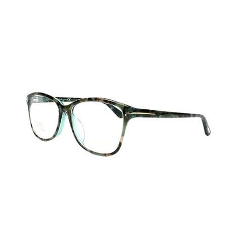 e0fdb0a462 Tom Ford FT5404-F-56A Optics Unisex Eyeglasses Blue Brown Mix Frames - Blue
