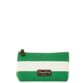 Dooney & Bourke Rugby Cosmetic Case (Introduced by Dooney & Bourke at $48 in Feb 2016) - Kelly Green