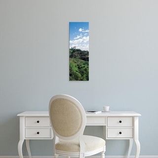 Easy Art Prints Panoramic Images's 'Observatory on hill, Griffith Park Observatory, Los Angeles, California' Canvas Art