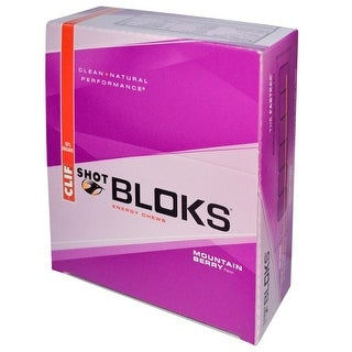 Clif Shot Bloks Mtn Berry (Box of 18)
