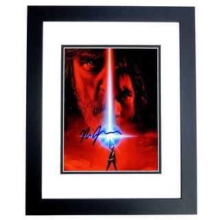 8 x 10 in. Rian Johnson Signed-Autographed Star Wars the Last Jedi