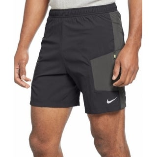 Nike NEW Black Charcoal Mens Size 2XL Athletic Apparel Shorts