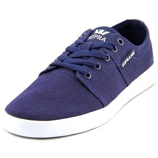 Supra Stacks II D Men Round Toe Canvas Sneakers