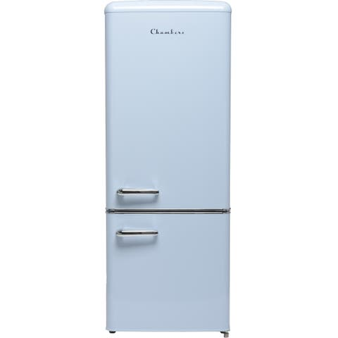 7 cu. ft. Retro refrigerator with bottom freezer