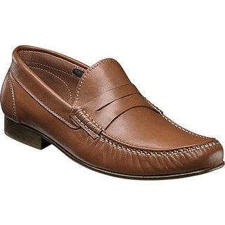 Florsheim Men's Boca Penny Loafer Cognac Full Grain Leather