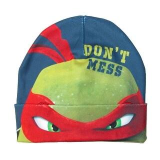 BioWorld Teenage Mutant Ninja Turtle Knit Hat with Eye Panel - Multi - One Size
