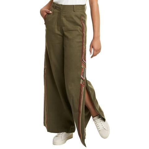 Tanya Taylor Bailey Linen-Blend Pant
