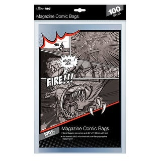 Ultra Pro Magazine Size Bags - 100ct Pack