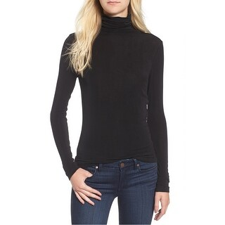 Chelsea28 Deep Women's Layering Knit Turtleneck Top