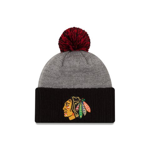 New Era Chicago Blackhawks Flag Stated Knit Hat