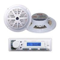 "Marine Stereo AM/FM Radio Receiver USB/SD iPod/MP3 Player + 2 x 100W 5.25"" Speakers"