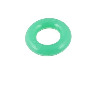 Unique Bargains Green Flexible Rubber Stopper Fishing Rod O Ring 30mm x 15mm x 7mm