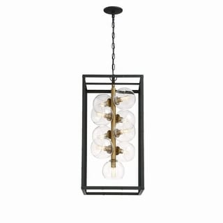 "Eurofase Lighting 31648 Bentley 9 Light 15-3/4"" Wide Multi Light Pendant"