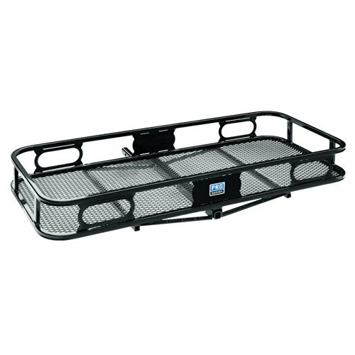 "Pro Series 63154 Rambler Hitch Cargo Carrier for 1-1/4"" Rece - Black"