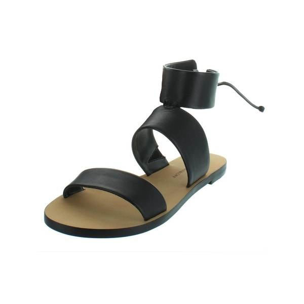 f799a617b Rebecca Minkoff Womens Emma Flat Sandals Open Back Flats - 6.5 Medium (B