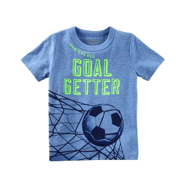 22cd5a64 Shop OshKosh B'gosh Little Boys' Glow-in-the-Dark Graphic Tee, 4-5 Kids -  Free Shipping On Orders Over $45 - Overstock - 27331038