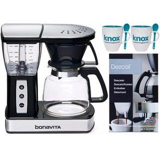 Bonavita BV01002US 8-Cup Glass Carafe Coffee Brewer w/ Warming Plate Bundle