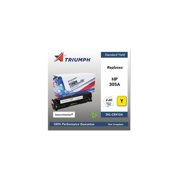 Triumph Remanufactured 305A Toner Cartridge - Yellow Toner Cartridge