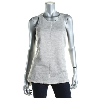 Vimmia Womens Heathered Racerback Pullover Top - L