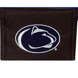 Penn State Nittany Lions Mens Wallet Bifold Black Blue