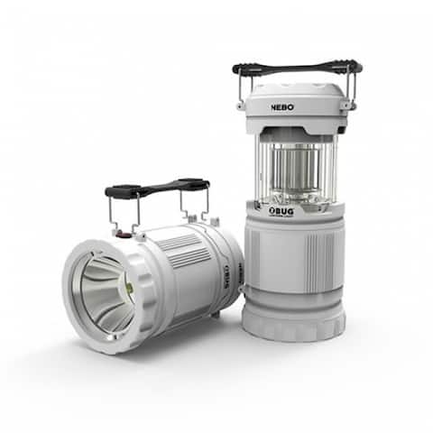Nebo 6587 Z-Bug Lantern & Spot Light Combo with Bug Attracting UV LEDs