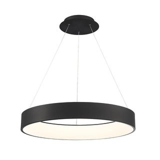 """WAC Lighting PD-33732 Corso Single Light 32"""" Wide Integrated LED Chandelier"""