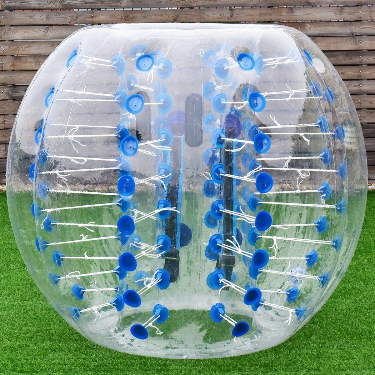 1.5M Inflatable Bumper Ball Dia 5/' Bubble Body PVC Soccer Ball Human Knocker