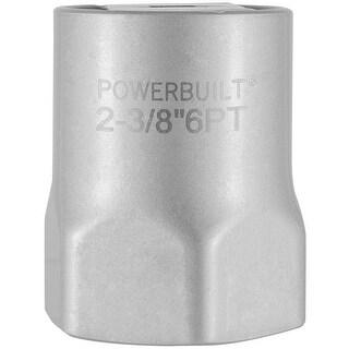 """Powerbuilt? 2 3/8"""" 6 Point Hex Wheel Bearing Locknut Socket - 647063"""