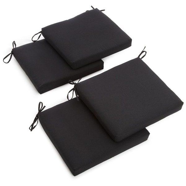 Blazing Needles 19-Inch Deep X 20-Inch Width Indoor Chair Cushion (Set of 4). Opens flyout.