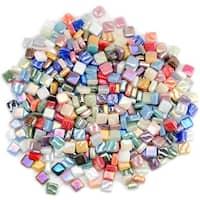 Classico Mini Iridized Tile Mix 8oz-Assorted Colors