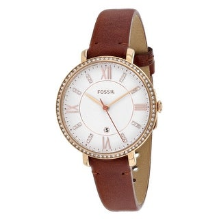 Fossil Women's Jacqueline ES4413 White Dial watch