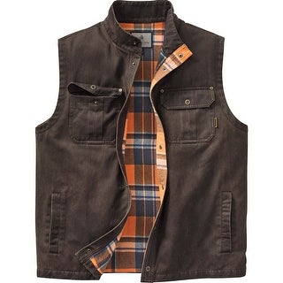 Legendary Whitetails Men's Trekker Vest - Tobacco