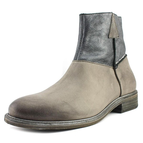 Shop John Fluevog Holden Grey Boots - Free Shipping On Orders Over ... 747976317a