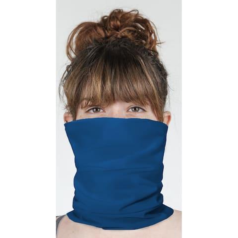 """DOLPHIN BLUE Neck Gaiter By Kavka Designs - 10"""" x 18"""""""